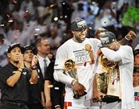 NBA Championship Cap 2013