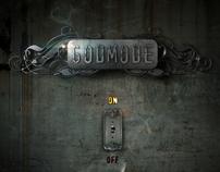 """GODMODE """"ON"""" CD cover art"""