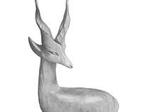 Gazelle Ornament