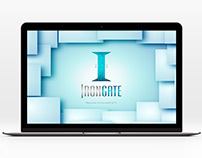 "Logo & corporate identity for the it company ""Irongate"""