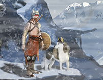 Viking - Digital Painting