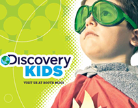 Discovery Kids cover for Kidscreen Magazine