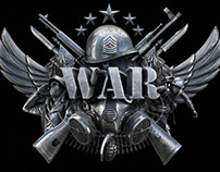 War - The board game logo