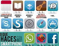 Lo que puedes y haces con tu smartphone