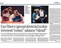"""Le allegre comari di Windsor e Falstaff""di V.Escobar"