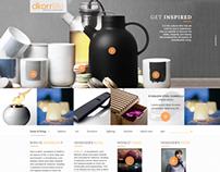 dkorrLife | web design, ecommerce startup
