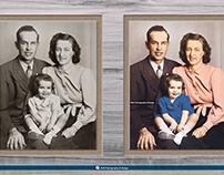 Photo coloring using Adobe Photoshop