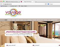 Voyage Travel website