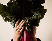 A portrait with chard