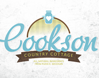 Cookson Country Cottage Logo Concept