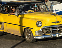 Cuba: Cars and People