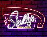 Proposed Concept for Skully's Music Diner Web Re-Design