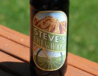 Steve's Brewhouse Beer Label