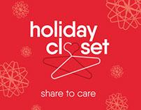 WEM Holiday Closet - Branding + Identity