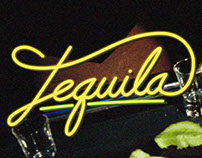 Tequila in Calligraphy