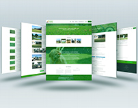 web design for turfing company