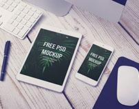 Free iPad Air Mockup PSD
