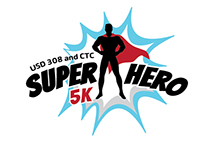 Super Hero 5K logo