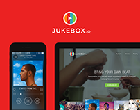 Jukebox.io - Landing Page & Mobile App
