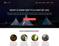 Website for Camp ON