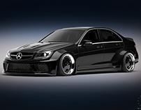 Mercedes-Benz W204 Body kit