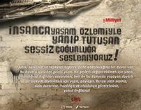 "Milliyet ""yazduvara.com"" 2008 Kristal Elma   Award win"