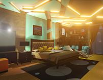 A Contemporary Bedroom Design