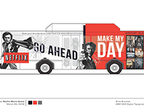 Bus Wrap - Four different projects