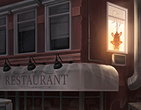 """Apartment above the restaurant"""