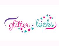 Glitter Locks Logo