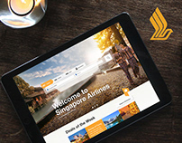 Singapore Airlines | Layout Concept