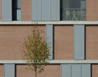 libeccio - edificio a [doppio] blocco per appartamenti.