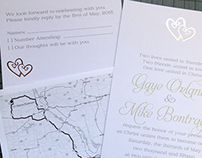 Wedding Invite Package Spring 2015