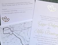 Wedding Invite Package Spring 2015