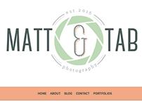 Logo Design | Matt & Tab Photography