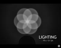 LIGHTING (flower of Life)