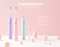 Electric toothbrush | foodography