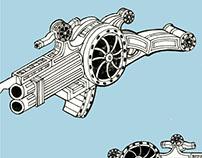 SI-FI Gun Design