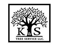 K&S Tree Service Logo & Identity