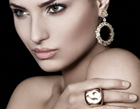 Editorial jewelry shoot