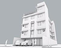 5 Storey Dormitory w/ Residential Floors