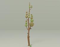 low trees set