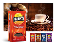 coffee packaging - cafe paulista