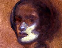 Portrait / oil sketch