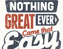 Nothing Great Ever