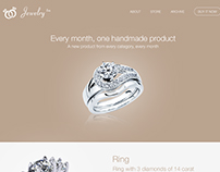 Jewelry Rebranding & Redesign