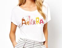 BELKO Ankara temalı T-shirt Tasarımları