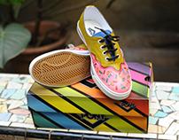 Zapatillas PONY pintadas