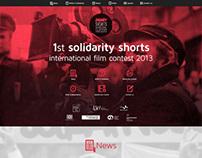Solidarity Shorts - Web Design/ Web Development