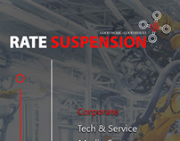 Rate Suspension Factory UI Design Web Interface